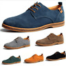 Multi Size Mens Suede Casual oxfords leather Shoes Business Dress Formal