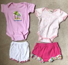 3-6 Month Girls Summer Clothing, Lot Of 4 Misc Pieces.