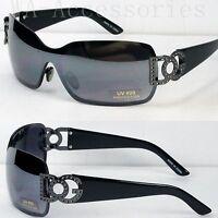 New DG Eyewear Womens Mens Shield Designer Sunglasses Shades Fashion Retro (859)