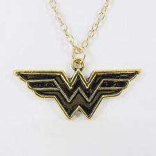 Collana con logo di Wonder Woman DC Comics Super Eroe JUSTICE LEAGUE Cosplay Amazon