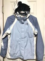 THE NORTH FACE Jacket Youth Size Girl's Large Blue Waterproof HYVENT Womens S