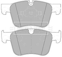 Borg & Beck Disc Brake Pad Set Pads BBP2453 - GENUINE - 5 YEAR WARRANTY