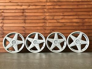 Azev alloy wheels, 4x100 16inch Volkswagen Golf MK 1 2 3, Polo Lupo Fox etc rare