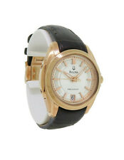 Bulova Precisionist 97M104 Women's Round Analog Date Rose Gold Tone Watch