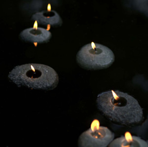 Floating Candles -Pebble Shaped- Great Teacher's Gift