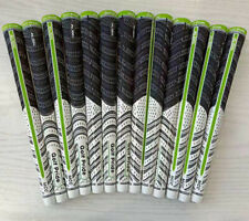 13X Set New MCC ALIGN Golf Club Grips Midsize size Epic Flash (White/Green)