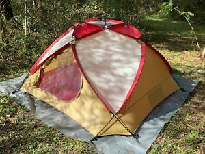 Vintage Bill Moss Little Dipper 3-Person 4-Season Tent and Heptawing Tarp