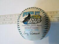 Baseball Tampa Bay Devil Rays Inaugural Season Baseball from 1998 by Fotoball