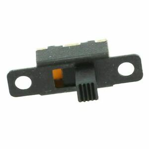 5x 5V 0.3 A Mini Size Black SPDT Slide Switch for Small DIY Power