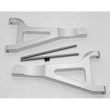 Hot Racing RVO5408 Traxxas E-Revo Revo Summit Silver Aluminum Front Upper Arms