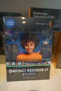 Blackmagic Design Davinci Resolve 17 Studio SD Card + Code Nip