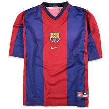 Nike Herren Trikot Jersey Gr.XL FC Barcelona Retro 00/01 Mehrfarbig, 50400