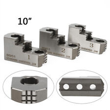3pcs 10 Double Step Hard Steel Jaws For Kitagawa B 210 Cnc Lathe Chuck 20crmnti
