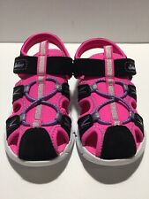 New Skechers Toddler Girls  Sport Sandals Size 9