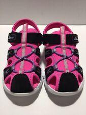 New Skechers Toddler Girls  Sport Sandals Size 9
