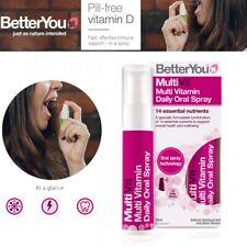 BetterYou Multivit diario oral Spray Natural Sabor Grosella Negra Ciruela - 25mL