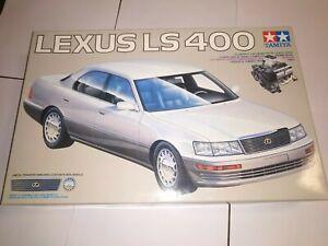 Tamiya Lexus LS 400 1/24 model kit 24114 full engine detail