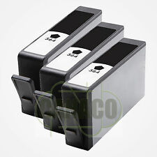 3 BK 564XL 564 XL Ink Cartridges for HP PhotoSmart D5445 D5460 7510 7560 pritner
