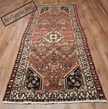 OLD WOOL HAND MADE PERSIAN ORIENTAL FLORAL RUNNER AREA RUG CARPET 263x100CM