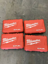 x4 Milwaukee M18 FUEL 18V kit Hard case only Hammer Drill Impact 2997-22 2999-22