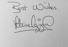 Steve Ogrizovic HAND SIGNED White Card Coventry 1987 FA Cup Final *In Person*COA