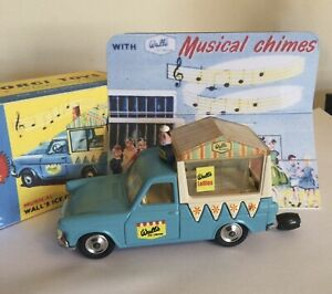 Corgi Toys 474 447 Walls Ice Cream Van On Ford Thames With Working Chimes
