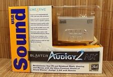Creative Sound Blaster Audigy 2 NX SB0300 USB 24-bit External USB Sound Card NIB