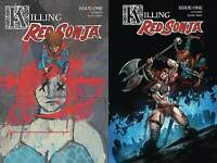 Killing Red Sonja #1 (Dynamite 2020) 2 Variant Lot Cover A Ward Gedeon Zombie
