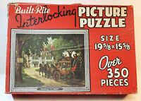 """Vintage Built Rite Picture Puzzle Jigsaw """"Highway To Liberty"""""""