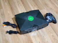 Microsoft Original Xbox Console Bundle! XBOX! 1 OEM CONTROLLER! W/ ALL CORDS!