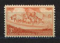 ESTADOS UNIDOS/USA 1954 MNH SC.1061 Kansas