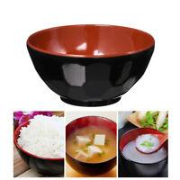 1x Melamine Bowls Plastic Rice Bowl Soup Bowl Noodle Casserole Bowl