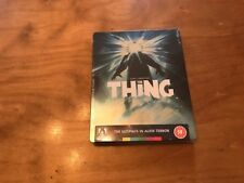 The Thing Blu-Ray*Steelbook*Arrow Video*Rare*OOP*Sealed/NEW*Region 2/B Pal*