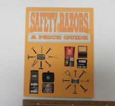 SAFETY RAZORS Identification Price Guide LW Book Shaving Memorabilia yz3358