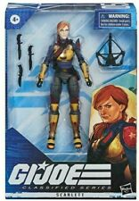 "GI Joe Classified Wave 1 Scarlett 6"" Figure #05 NEW! CASE FRESH! YO JOE!  Hasbro"