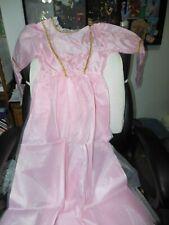 Royal Princess Dress with Tiara by Mardi Gras Girls 4-6 Nip Halloween