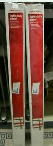 """Lot of 2 Office Depot Light - Duty Easel Solid Wood Overall Height 63"""" N0.618225"""