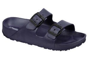Ladies Slip On Slipper Sandals Size 3 to 8 UK - SLIDERS & SUMMER SLIPPERS MULES