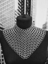 VELES ARMOUR Chain mail Aluminum 10mm Butted Women Collar