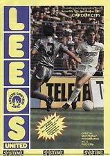 83/84 Leeds United v Cardiff City League Division 2