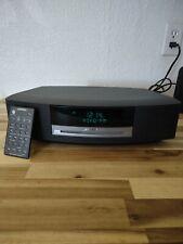 Bose Wave Radio Music System Iii 3 Am/Fm Cd Player Alarm Radio W Remote