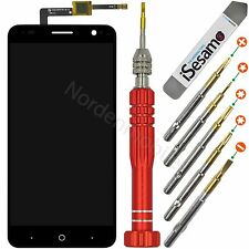 ZTE Blade V7 Komplettes LCD Display Touchscreen Schwarz + Profi Werkzeugset