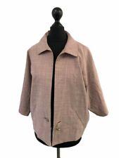 VIVIENNE WESTWOOD Red Label Pink Relaxed Fit Wool Blend Jacket 44 N21