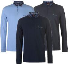✅ PIERRE CARDIN Herren Longsleeve Pullover Polo Kragen Sweatshirt Hemd Shirt NEU