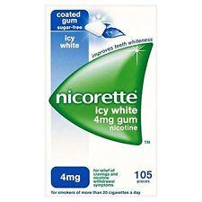 Nicorette Icy White Nicotine Gum 4mg X 105