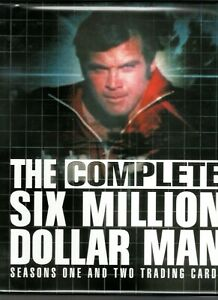 THE SIX MILLION DOLLAR MAN SEASONS 1 & 2 FACTORY BINDER ONLY (NO CARDS INCLUDED)