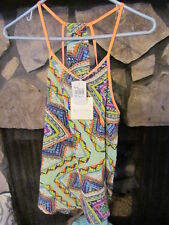 Women's Blouse Size S Cute Print Pretty Colors Sleeveless Very Cute Style