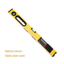 600mm 24inch LCD Display Digital Spirit Laser Level with Laser Beam and Magnet B