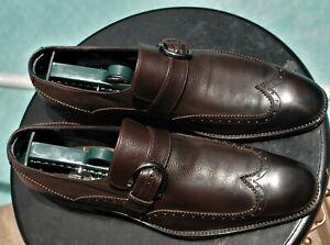 Salvatore Ferragamo Mans Lavorazione Originale Brown Leather Dress shoe Sz 7.5 D