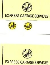 """#165 Dinky Decals for Horse Box #33 """"GWR Express"""""""